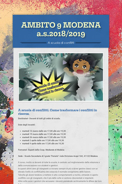 AMBITO 9 MODENA  a.s.2018/2019