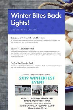 Winter Bites Back Lights!