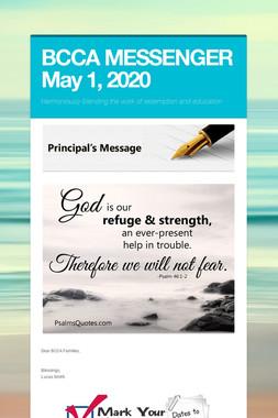 BCCA MESSENGER  May 1, 2019