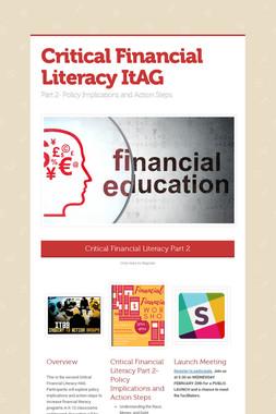 Critical Financial Literacy ItAG