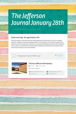 The Jefferson Journal January 28th