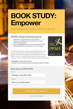 BOOK STUDY: Empower