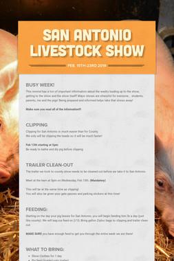 San Antonio Livestock Show