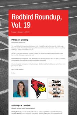 Redbird Roundup, Vol. 19