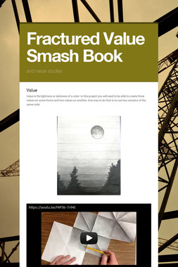 Fractured Value Smash Book