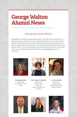 George Walton Alumni News