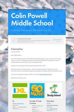 Colin Powell Middle School