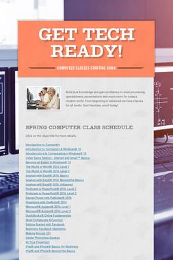 Get Tech Ready!