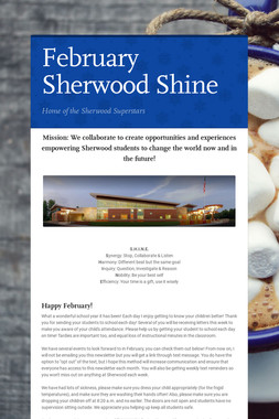 February Sherwood Shine