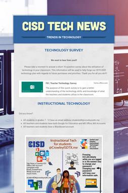 CISD Tech News