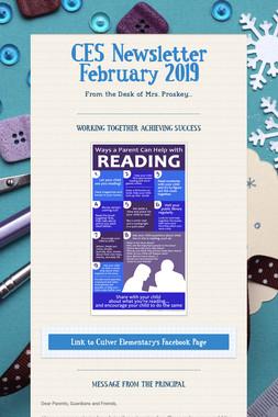 CES Newsletter February 2019