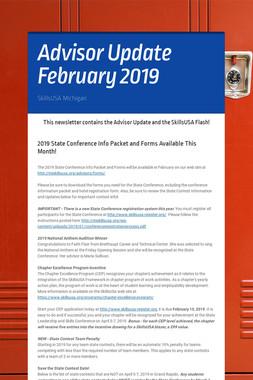 Advisor Update February 2019