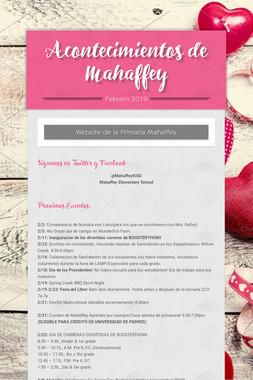Acontecimientos de Mahaffey