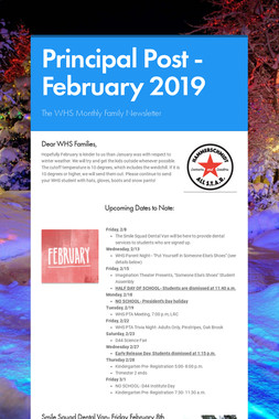 Principal Post -February 2019