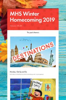 MHS Winter Homecoming 2019