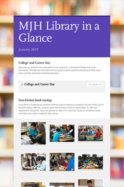 MJH Library in a Glance