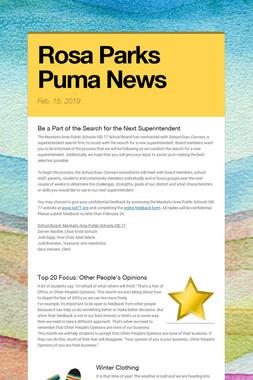 Rosa Parks Puma News