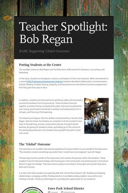 Teacher Spotlight: Bob Regan