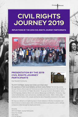 Civil Rights Journey 2019