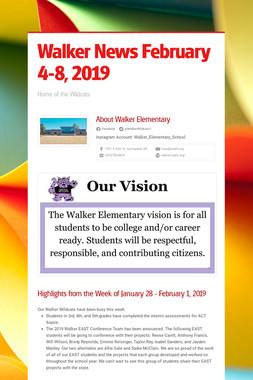 Walker News February 4-8, 2019