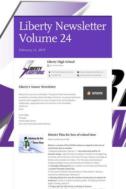 Liberty Newsletter Volume 24