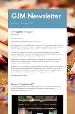 GJM Newsletter