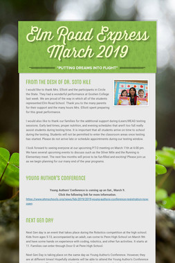 Elm Road Express March 2019