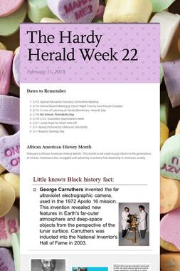 The Hardy Herald Week 22