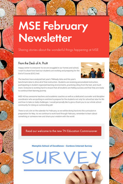 MSE February Newsletter