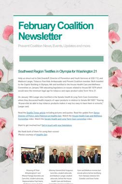 February Coalition Newsletter