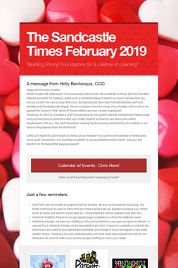 The Sandcastle Times  February 2019