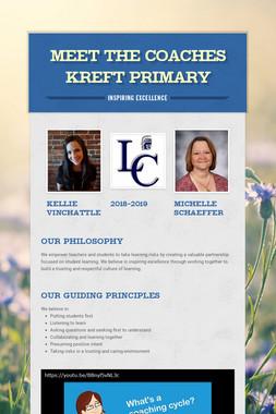 Meet the Coaches Kreft Primary