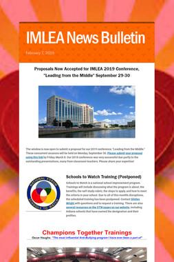 IMLEA News Bulletin