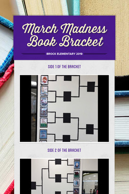 March Madness Book Bracket