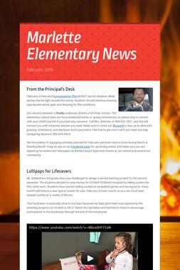 Marlette Elementary News