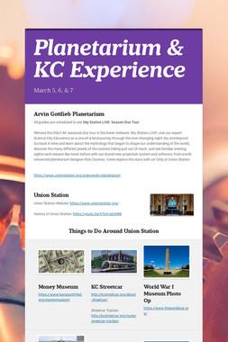 Planetarium & KC Experience