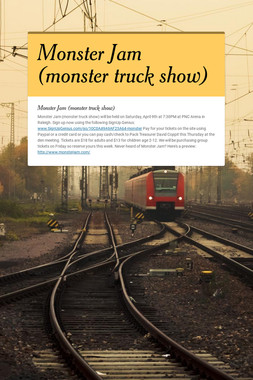 Monster Jam (monster truck show)