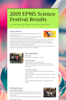 2019 EPMS Science Festival Results