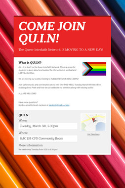 COME JOIN QU.I.N!