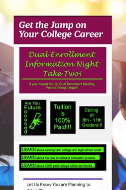 Get the Jump on Your College Career