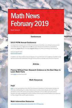 Math News February 2019