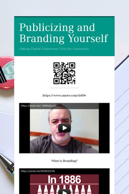 Publicizing and Branding Yourself