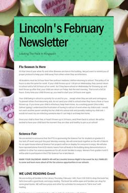 Lincoln's February Newsletter