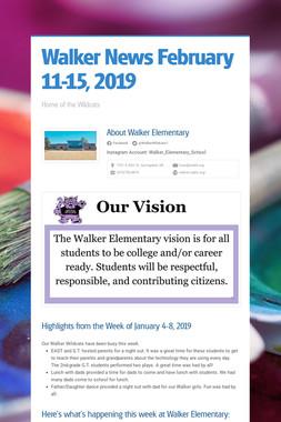 Walker News February 11-15, 2019