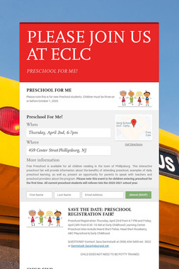 PLEASE JOIN US AT ECLC