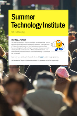 Summer Technology Institute