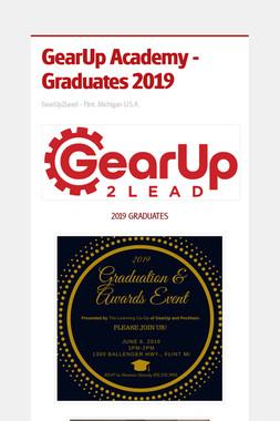 GearUp Academy - Graduates 2019