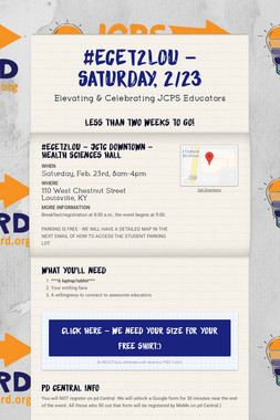 #ECET2Lou - Saturday, 2/23
