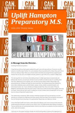 Uplift Hampton Preparatory M.S.