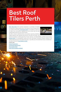 Best Roof Tilers Perth